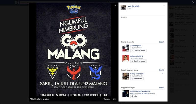 Meetup Pokemon Go Malang   Screenshot