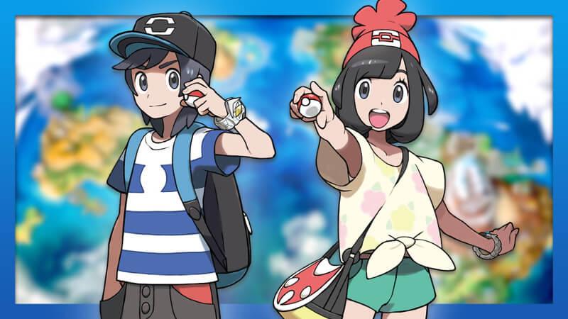 Penampakan 6 Pokemon Baru yang Dikeluarkan Oleh Nintendo