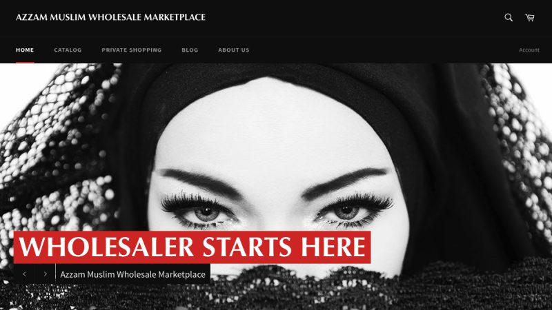 Azzam Trade Situs   Screenshot