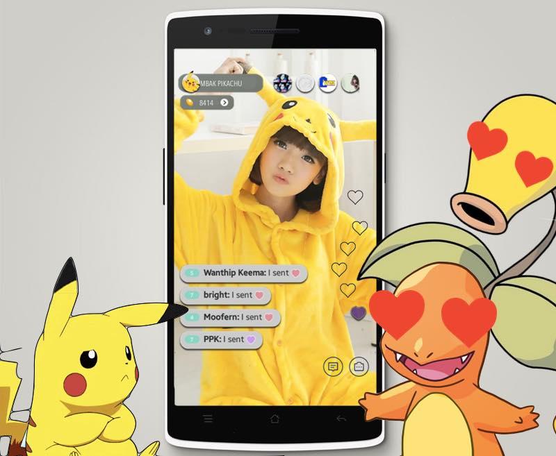 Bigo Live Pokemon | Screenshot