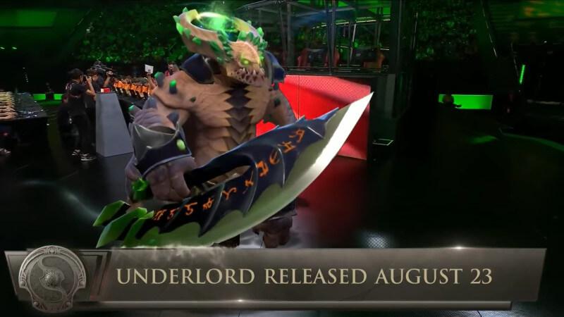 Dota 2 Akan Kedatangan Dua Hero Baru, yaitu Underlord dan Monkey King