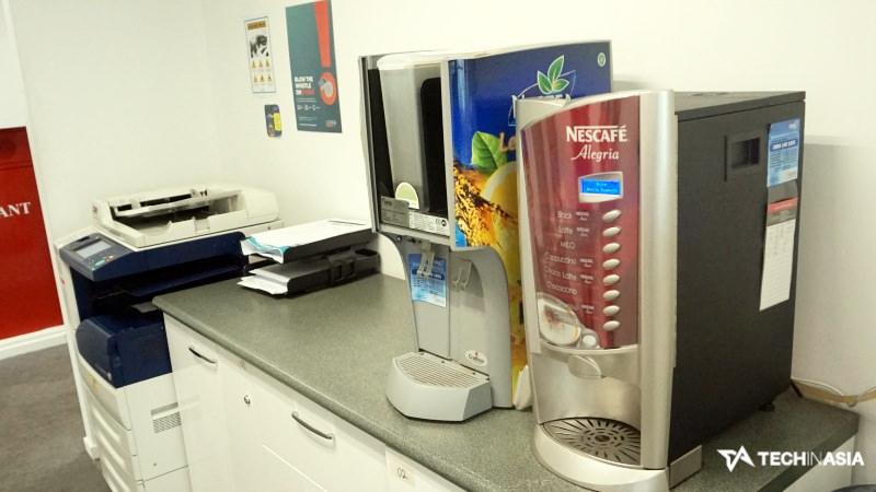 Kantor Lazada | Coffee Machine