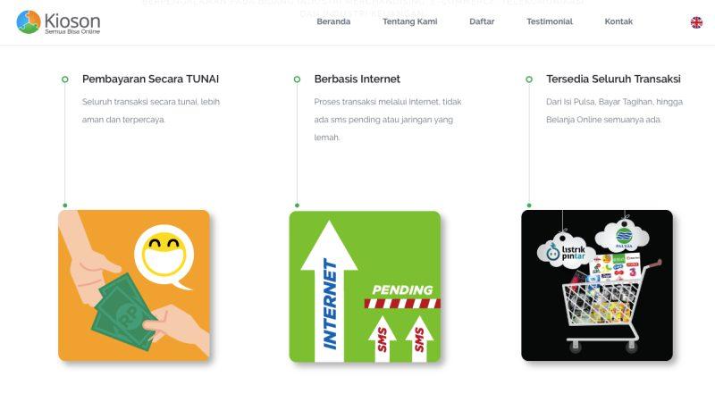 Kioson Situs   Screenshot