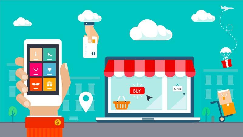 Transaksi E-commerce   Ilustrasi