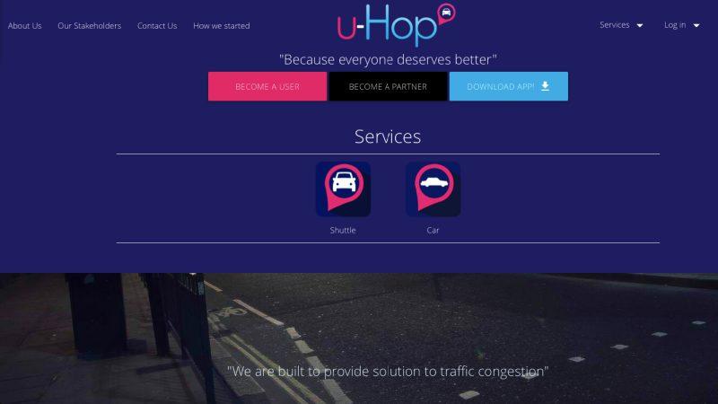 U-Hop Situs   Screenshot
