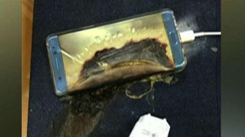 Ponsel yang tercatat pernah meledak