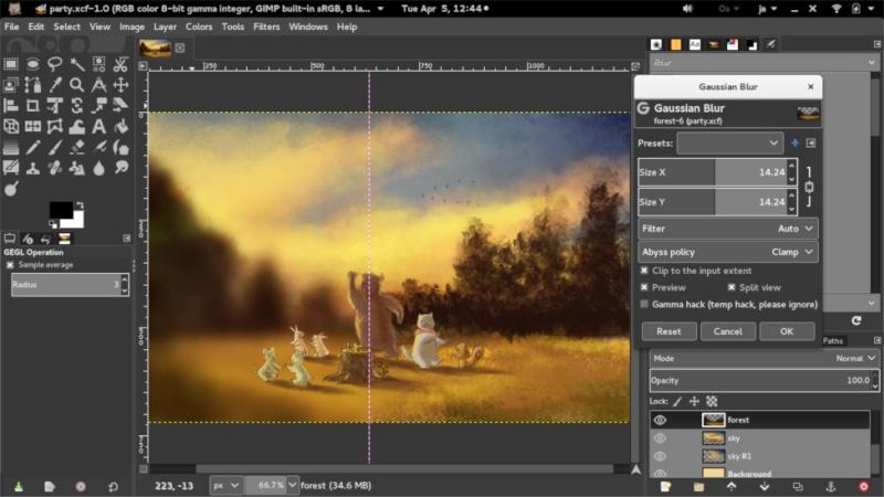 Aplikasi Edit Foto|GIMP