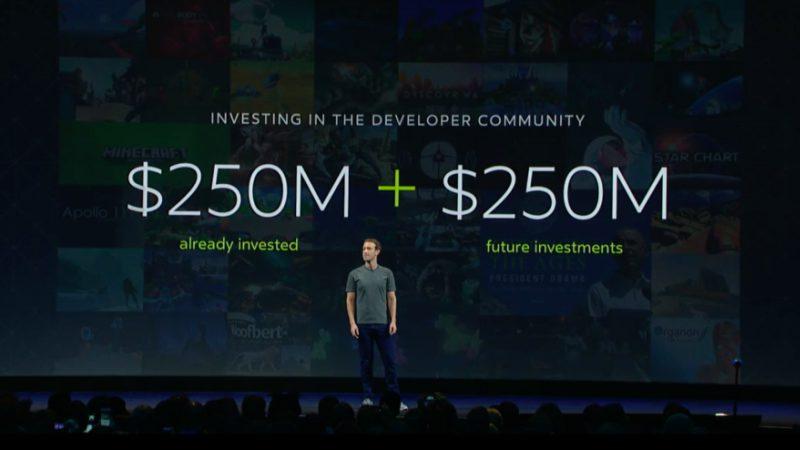 Facebook Investasi VR