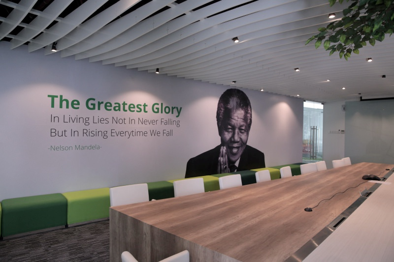 Kantor Tokopedia Hijau Muda Bergelora Tech In Asia