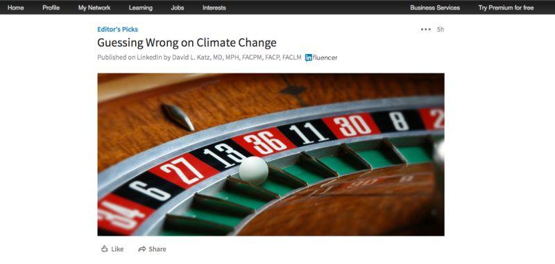 Linkedin Pulse | Screenshot