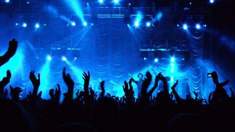 event konser musik | ilustrasi
