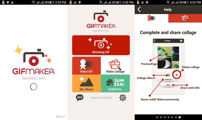 aplikasi GIF   screenshot 4