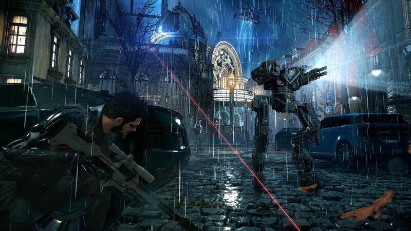 Hasil gambar untuk gambar game Deus Ex: Mankind Divided