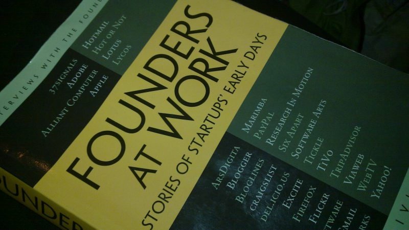 Founders at Work Buku | Cover