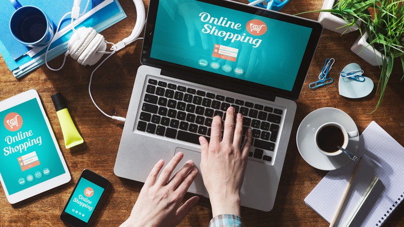 belanja online|ilustrasi