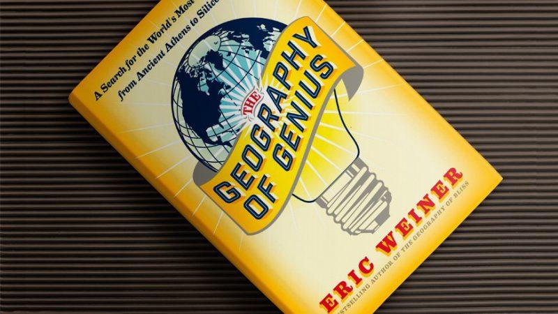 Geography of Genius   Sampul Buku