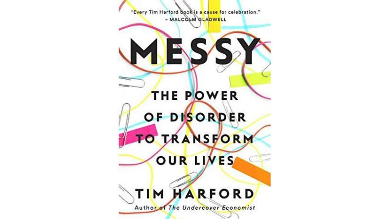 Messy   Sampul Buku