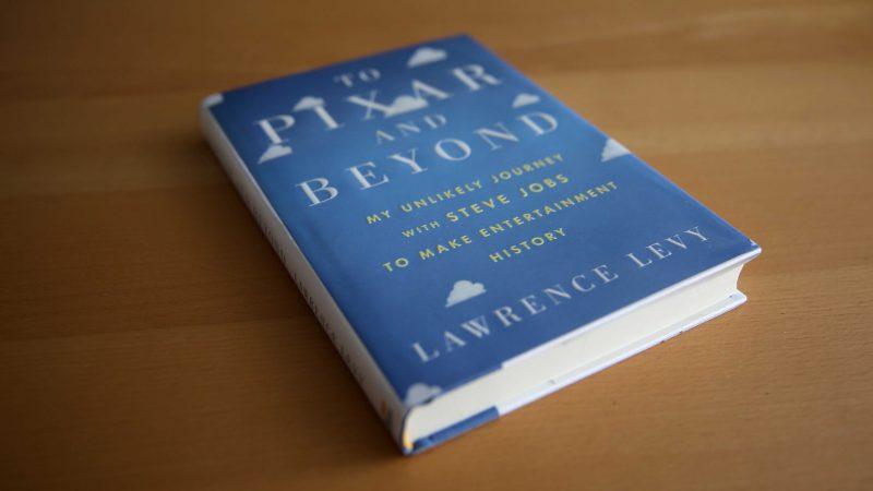 To Pixar and Beyond   Sampul Buku