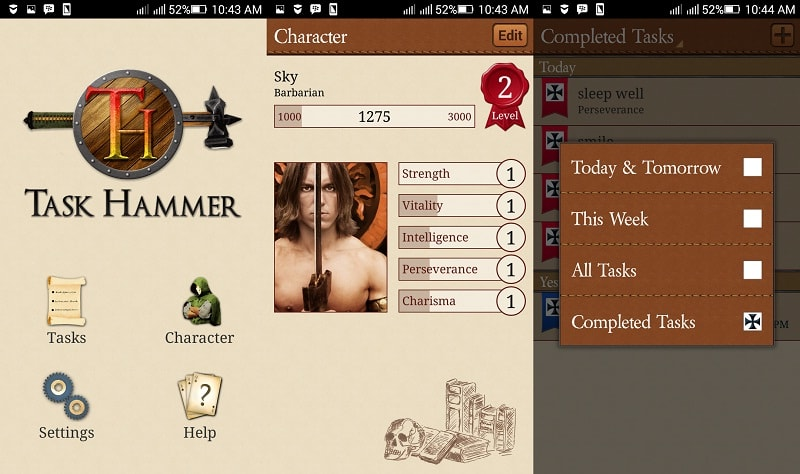 aplikasi gamifikasi | screenshot 3