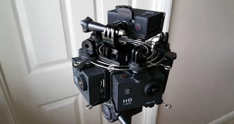 360 camera DIY | ilustrasi