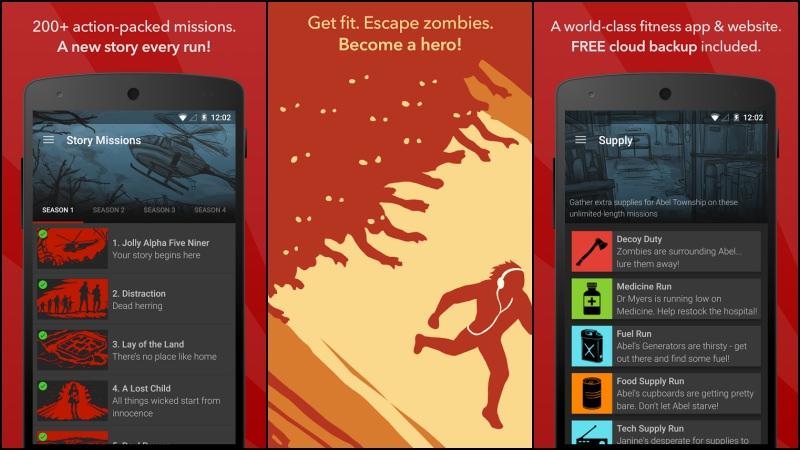 Aplikasi Olahraga | Zombies, Run!