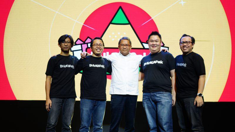 Bukalapak Co Founder dengan Rudiantara | Foto