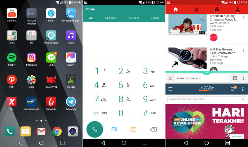 Review LG V20 | Screenshot 2