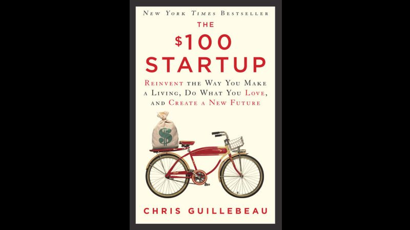 The $100 Startup | Sampul Buku