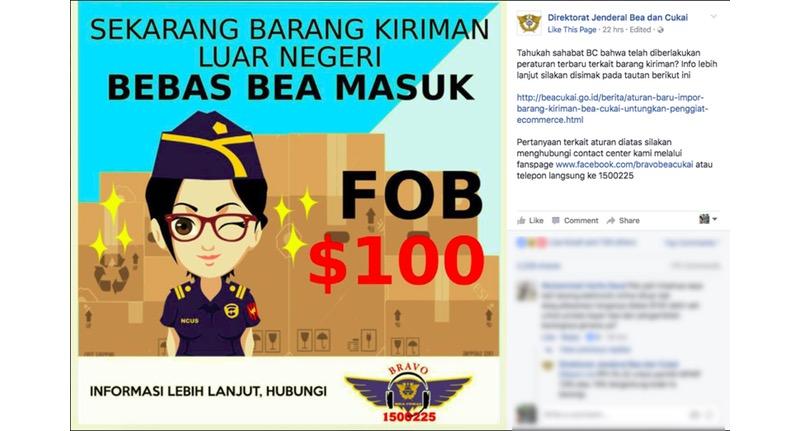 Bebas Bea Masuk Campaign | Screenshot