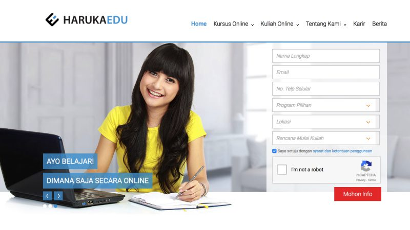 HarukaEdu | Screenshot