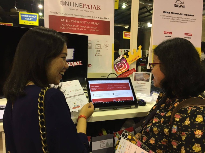 Online Pajak at TIA Conference Jakarta | Photo
