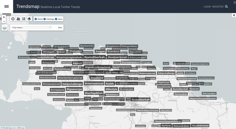 Mencari Berita | Trendsmap