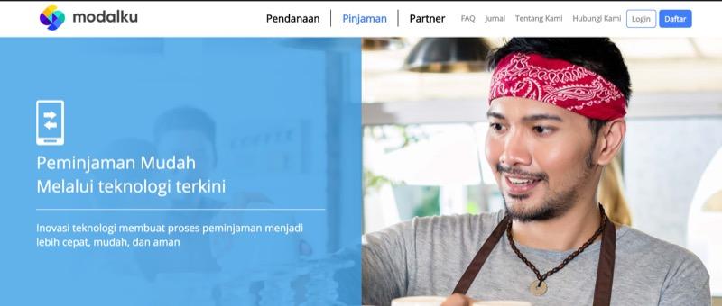 Situs Modalku New Logo | Screenshot