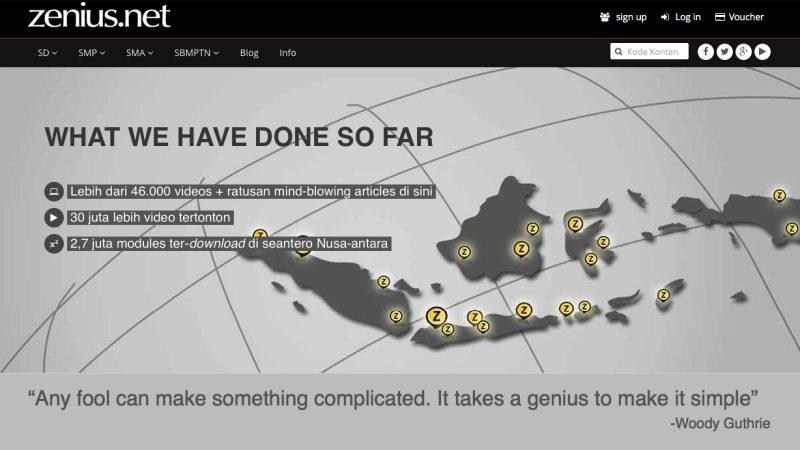 Zenius | Screenshot