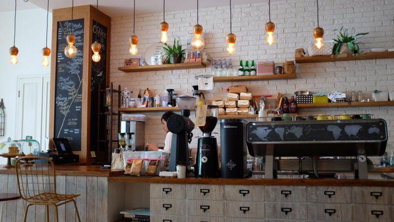 balik modal startup - ilustrasi kedai kopi