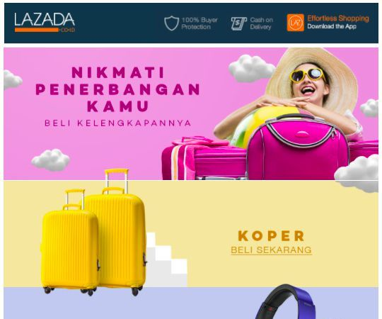 content marketing | lazada