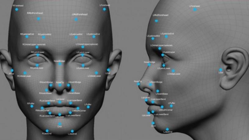 Teknologi pemindaian wajah.