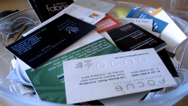 Namecard Stock | Photo