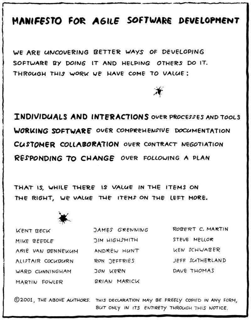 bisnis startup | agile manifesto