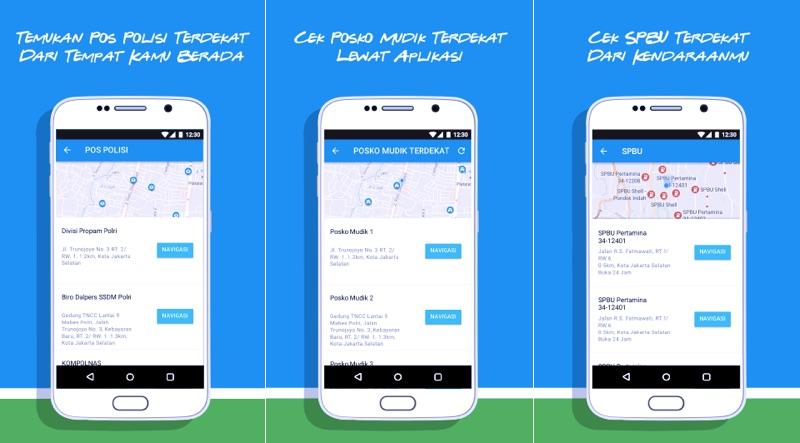 Ayo Mudik App | Screenshot
