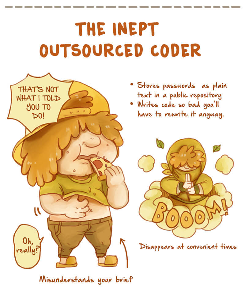 Outsourcing | Inept Programmer