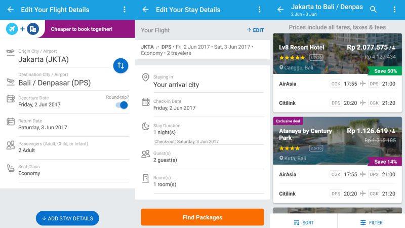 Pengguna Traveloka Kini Bisa Pesan Tiket Pesawat Dan Hotel