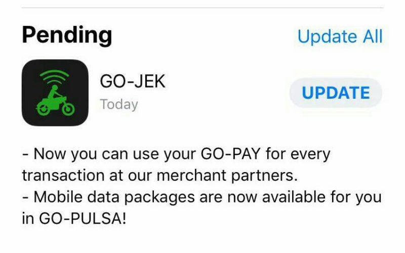 Perbarui Aplikasi, GO-JEK Siap Jembatani Transaksi GO-PAY