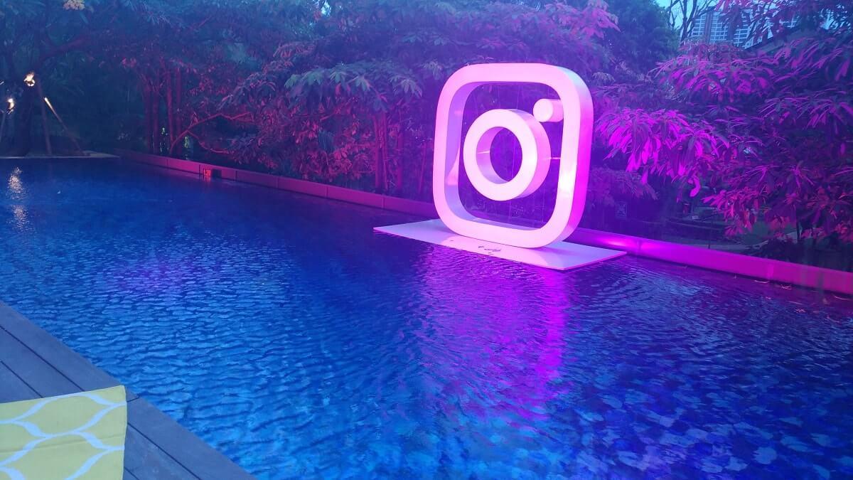 Suasana acara Membuat Konten Menarik di Instagram