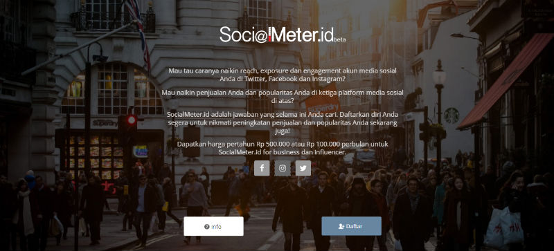 SocialMeter | Screenshot