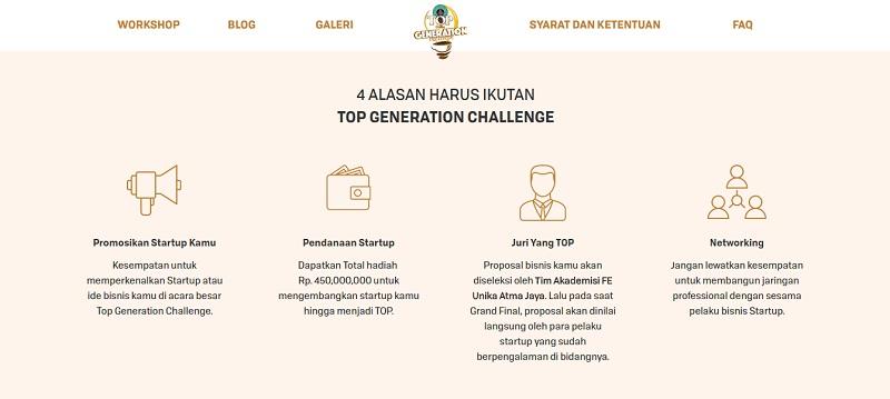 Top Generation Challenge | Screenshot