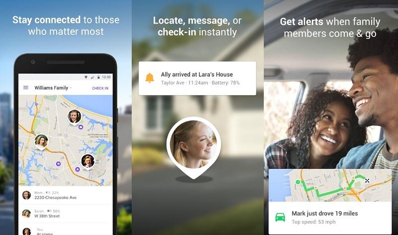 360Life Family Locator | Screenshot