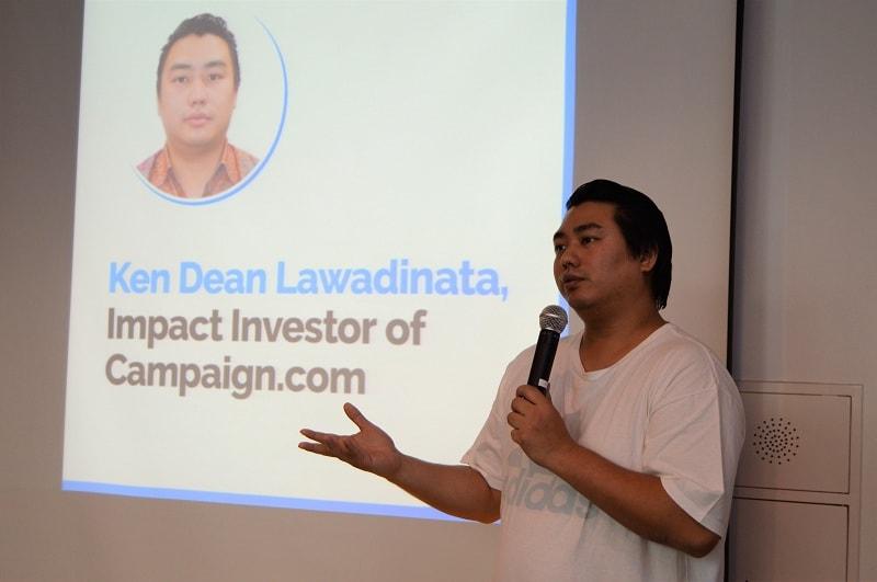 Mantan co-founder Kaskus, Ken Dean Lawadinata