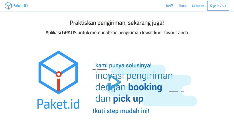 Paket | Screenshot