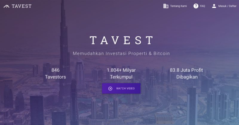 Tavest | Screenshot